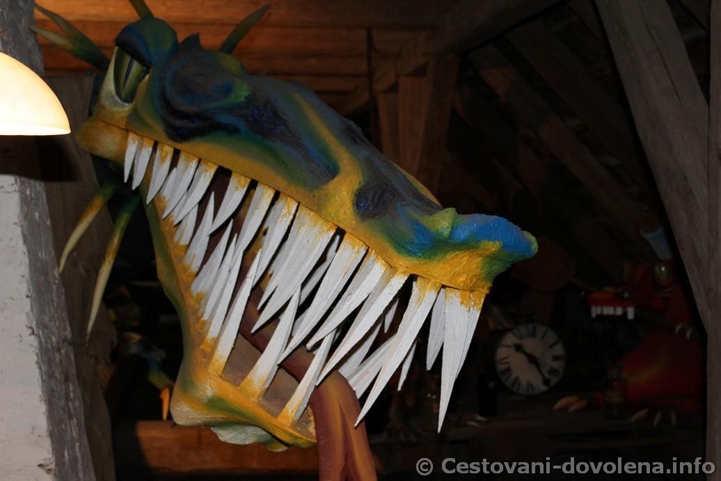 Stare Hrady - půdní drak