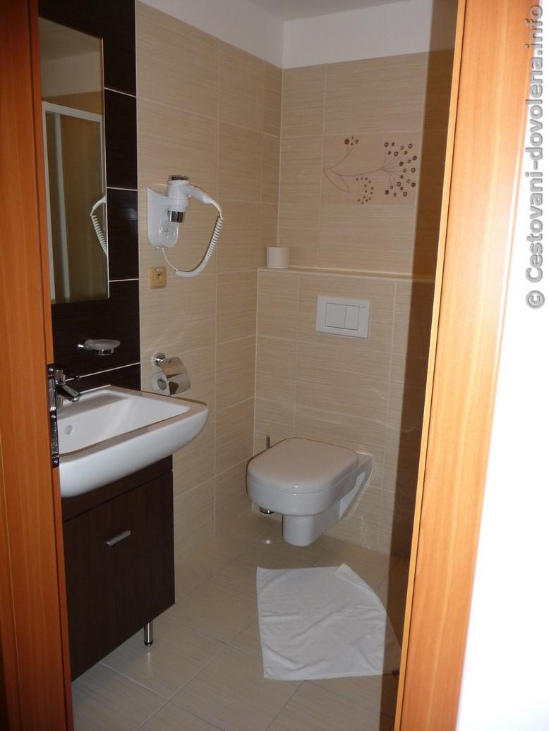 Hotel Energetic - jedna z koupelen