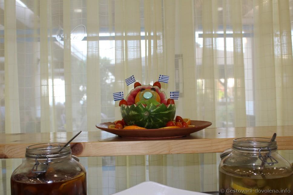 Gaia Royal - jídlo