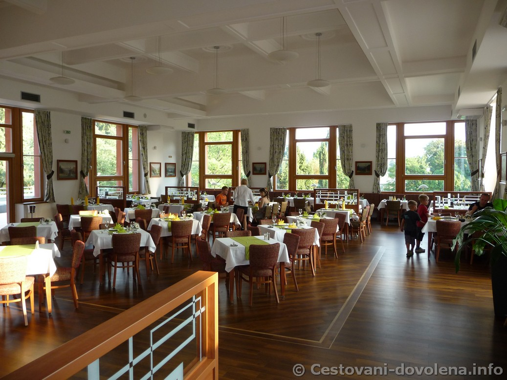 Hotel  Energetic - jídelna