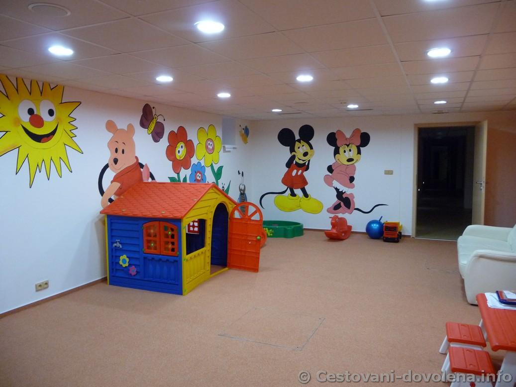 Hotel Energetic - dětský koutek